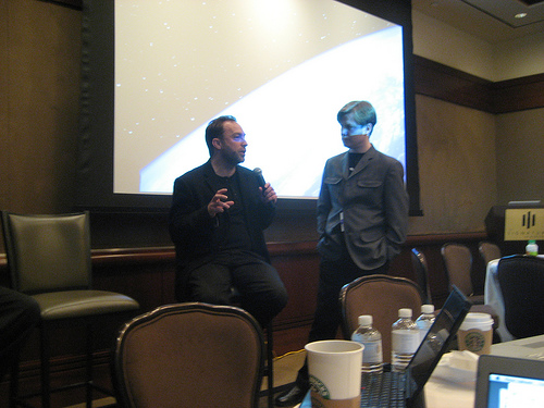 Jimmy Wales and James Governor