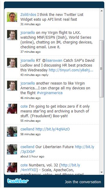 Tweet Blender Wins Over Twitter's Own List Widget – For Now