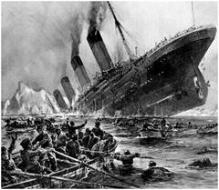 Good Luck Steering the Titanic