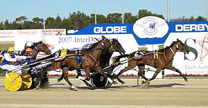 Harness Racing (Pacers) at the 2007 Interdomin...