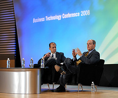 Tony Friscia (CEO, AMR Research) and J. Chris ...