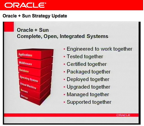 Oracle's single stack