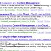 Cloud Content Management to Challenge ECM?