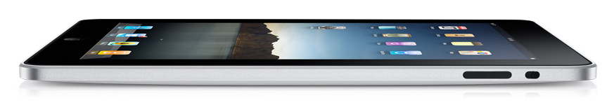 Apple's ultra thin iPad