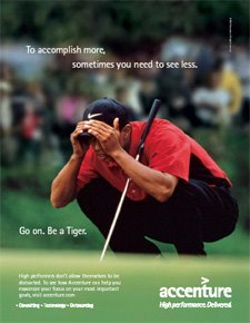 Collector's Item: Accenture/Tiger Woods advertising