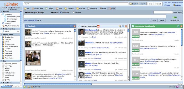 VMware Zimbra: Integration without Context Shift