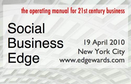 Going to the edge of Social Business