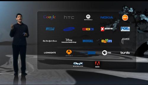 Flash partners - Adobe CS5 Launch