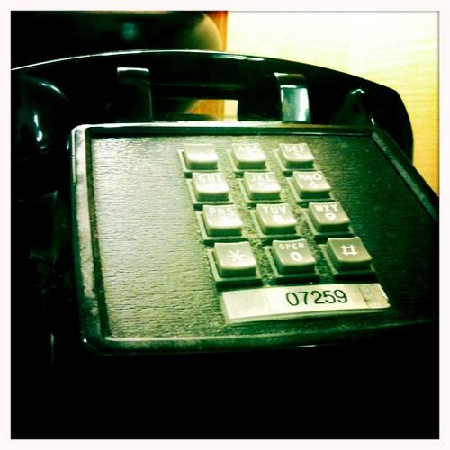Old Phone, in Atlanta Admirals Club