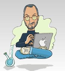 Fake Steve Jobs's Split Personality