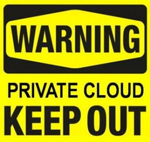 Private Cloud as a Stepping Stone