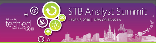 Event Report: Top 10 Questions To Ask At The Microsoft TechEd/STB Analyst Summit