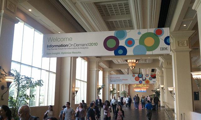 IBM IOD Opening Session: ACM and Analytics