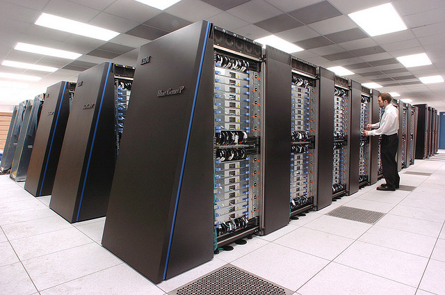 Energy efficient supercomputers from IBM!