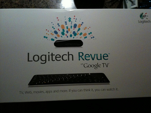 Initial Review of Google TV a la Logitech Revue – Not really worth it, get a Roku instead