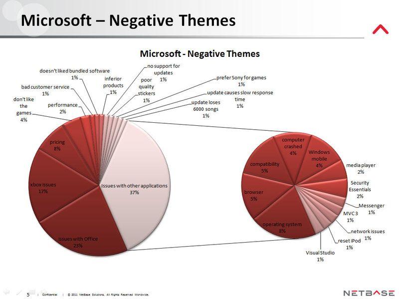 NetBase - Microsoft Negative Themes