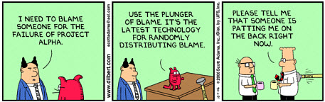 The IT failures greed / blame cycle