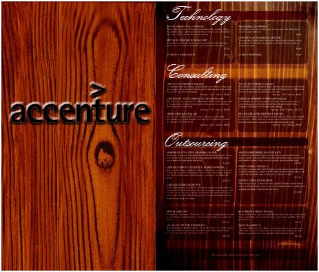 Are enterprises still going à la carte?  The governator samples the Accenture set menu