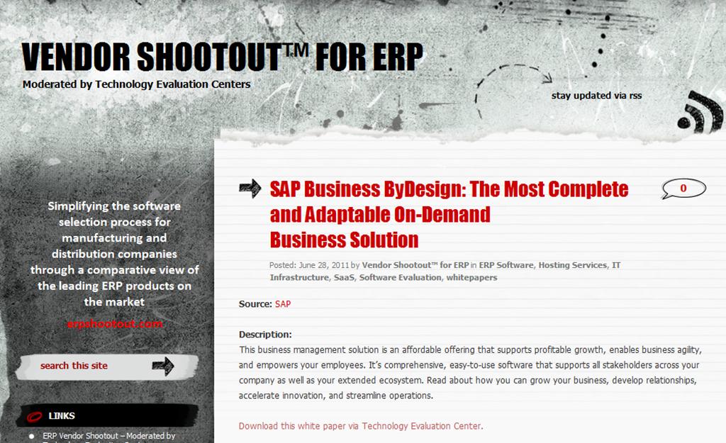erp shootout