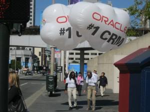 Oracle Guerilla Marketing at Dreamforce 2011