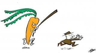 Carrot Beats Stick