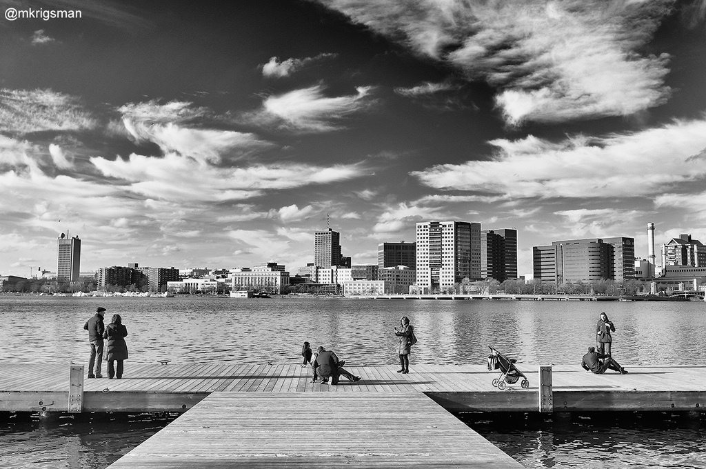 """Photo credit: """"Tourists on the Water in Boston"""" by Michael Krigsman"""