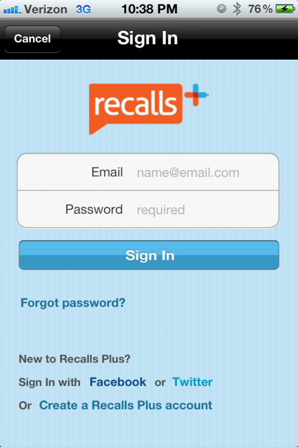 Product Review: SAP's Recalls App – The Crossover From Enterprise To Consumer Begins