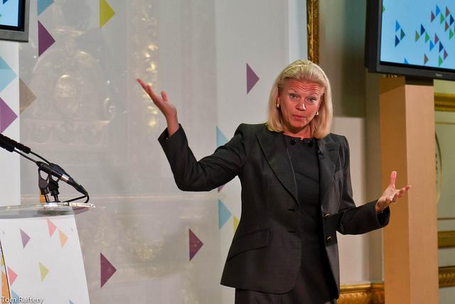 Ginni Rometty, CEO, IBM