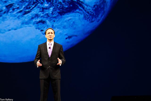 SAP co-CEO Jim Hagemann Snabe at Sapphire Now 2012