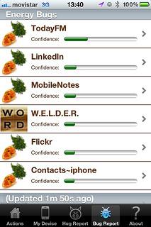 Carat - smartphone energy managament