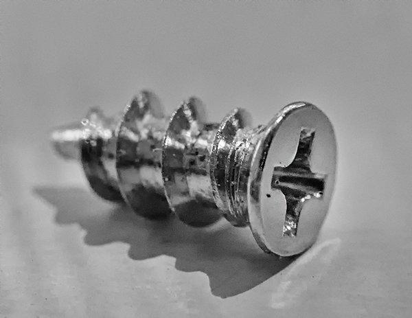 The screw that screws the customer