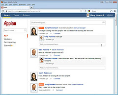 Appian V7 - Comment added to kudos