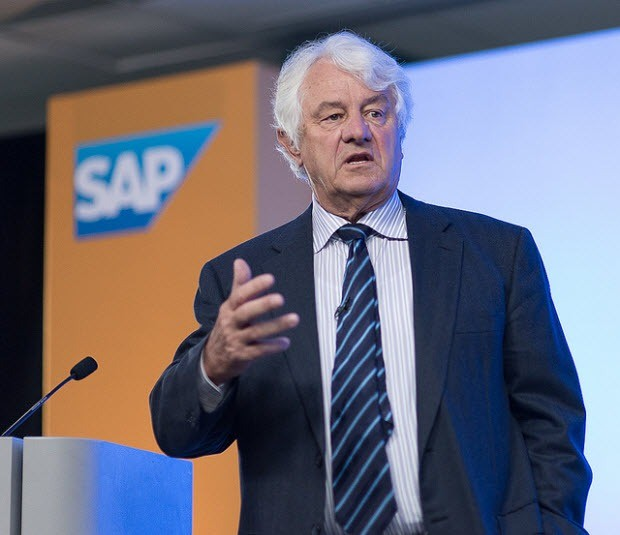Hasso Plattner, Chairman of SAP