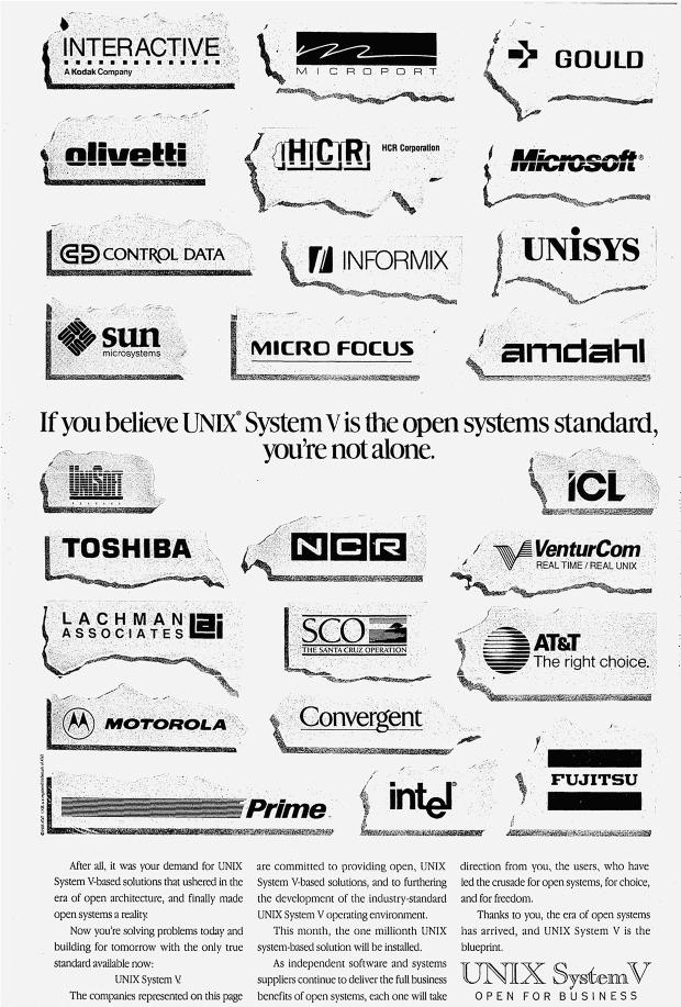 Unix Wars