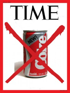 time new coke
