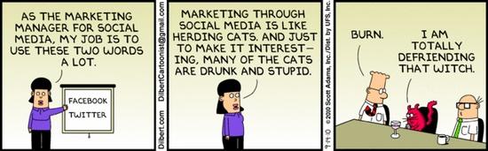 dilbert social media marketing
