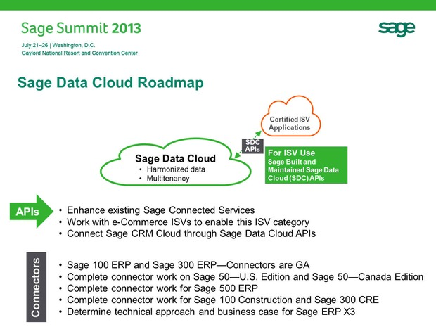 Sage Data Cloud, new UI and other re-tooling progress