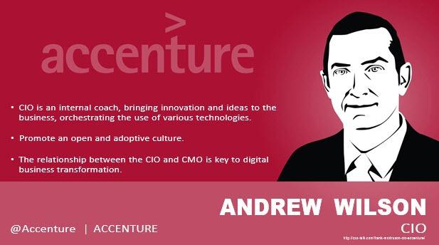 Andrew Wilson, CIO, Accenture