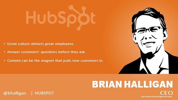 Brian Halligan, CEO, HubSpot