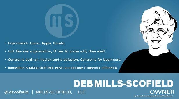 Deb Mills-Scofield, Author