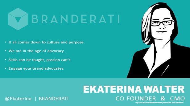 Ekaterina Walter, CMO, Branderati
