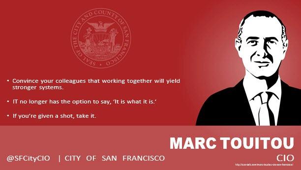 Marc Touitou, CIO, City of San Francisco