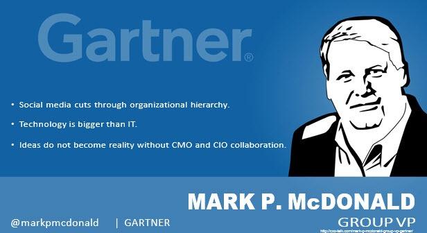 Mark P. McDonald, Group Vice President, Gartner