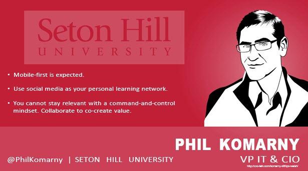 Phil Komarny, CIO, Seton Hill University
