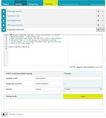 Effektif process definition and execution (release version)