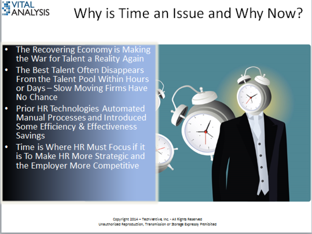 Time is the Enemy of HR (and its Employers)