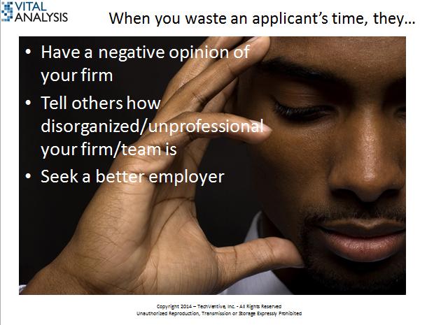 HR Recruiting Waste Reengineering Cost Branding