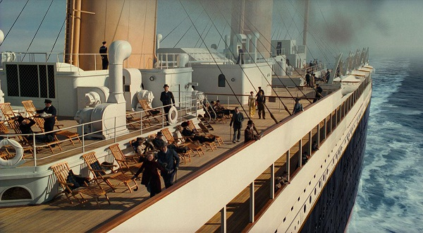deck chairs titanic