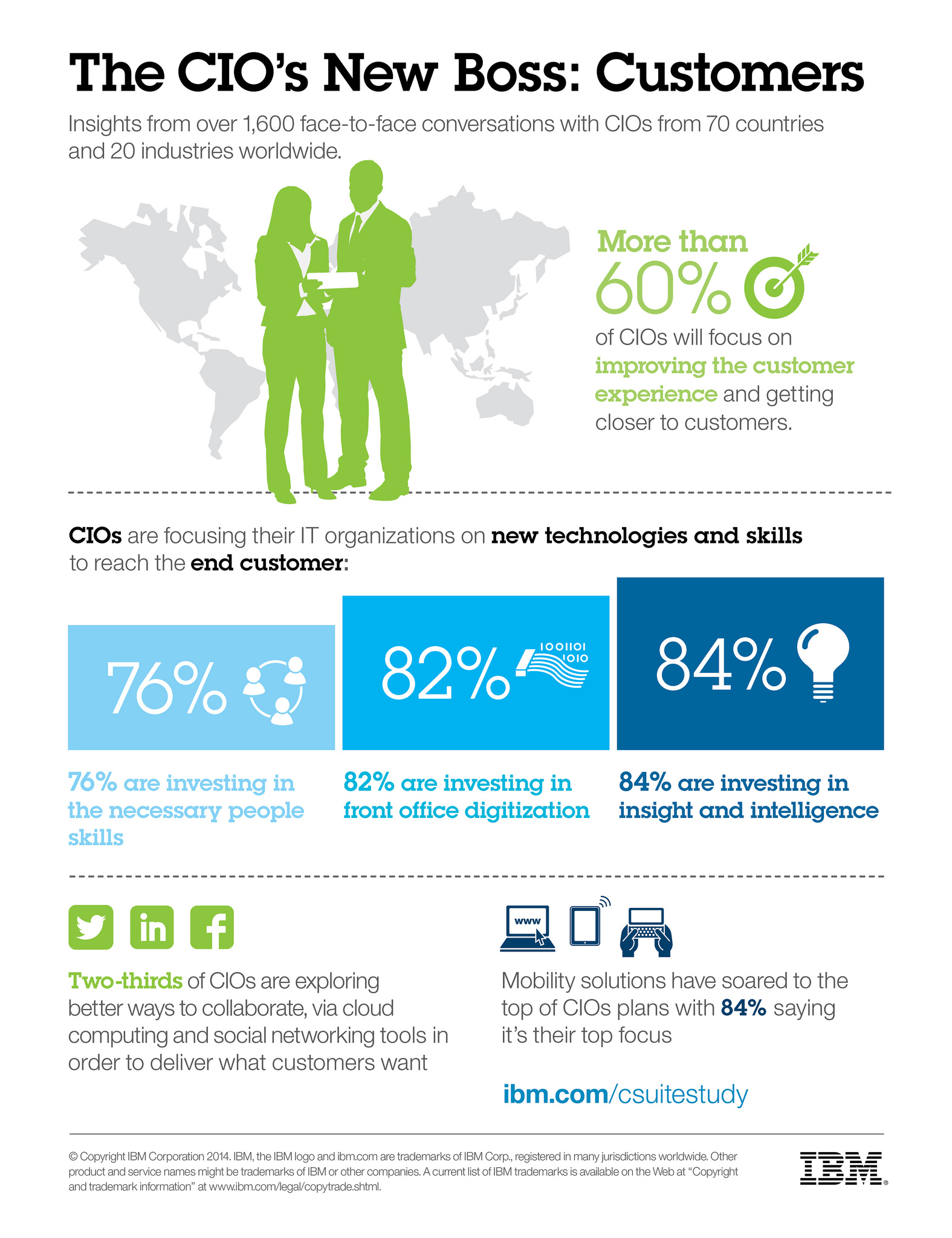 infographic  on CIOs new boss
