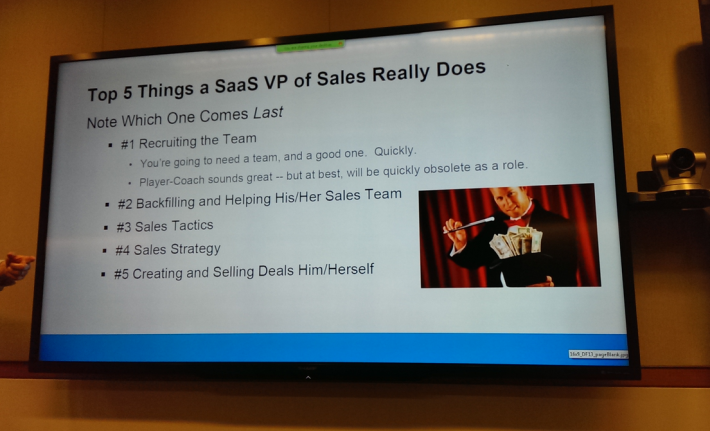 How to Hire A Great VP Sales:  The Full Video (and Transcript)
